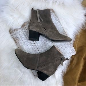 BANANA REPUBLIC Lydia Suede Ankle Bootie Size 7
